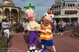 Meeting Phineas and Ferb | by Disney Dan