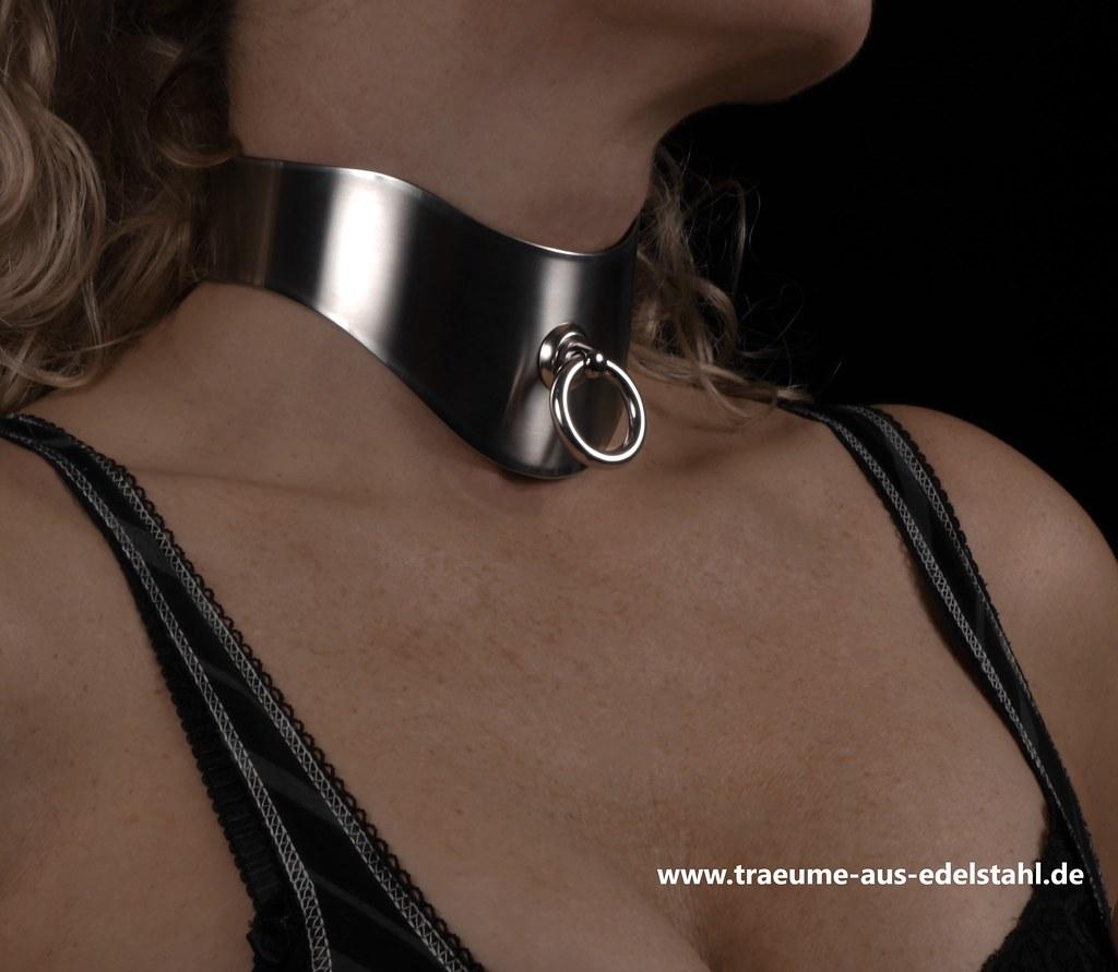 halsband edelstahl tr ume aus edelstahl flickr. Black Bedroom Furniture Sets. Home Design Ideas