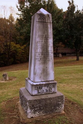 brittonlane battleofbrittonlane civilwar tn tennessee madisoncounty bmok bmok2 confederate monument