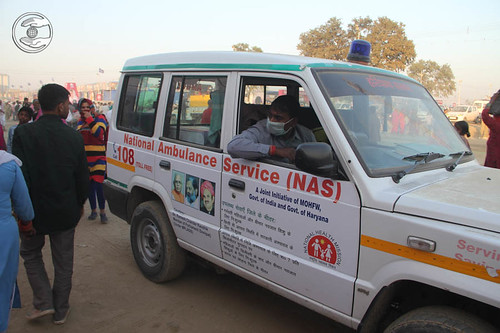 Ambulance Service in the Samagam Ground