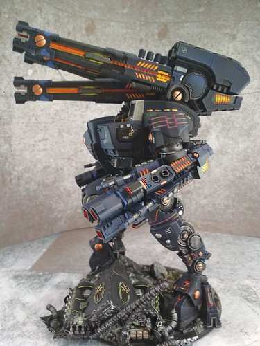 KX139 Taunar Supremacy Armour with Battlesuit Commander00023 | by Wargaming Mamas