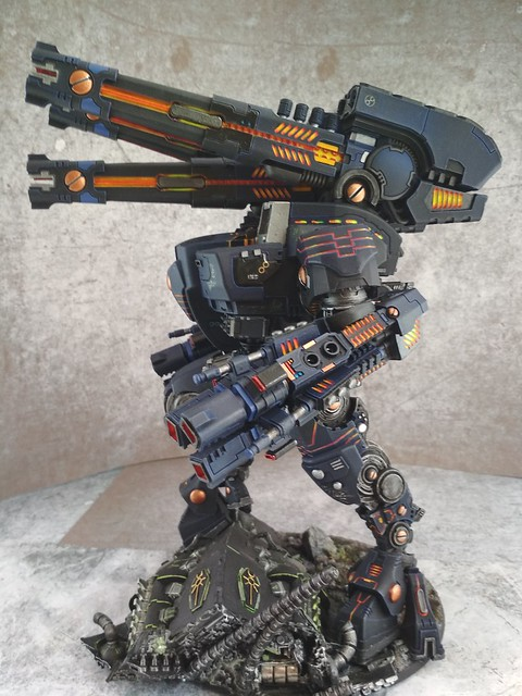 Tue, 01/01/2019 - 00:00 - KX139 Taunar Supremacy Armour with Battlesuit Commander00023