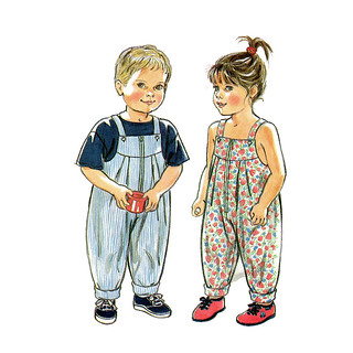 Simplicity 9830 Child Overall Pattern