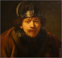 Self-portrait with Helmet | Rembrandt