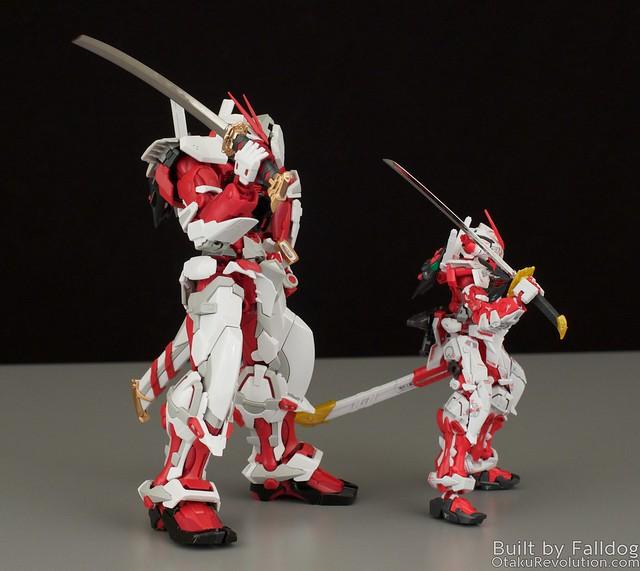 HiRM Astray Red Frame Gundam 19