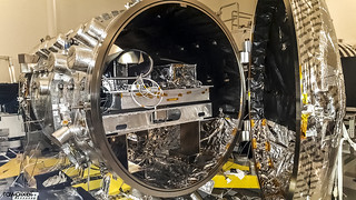 The vacuum chamber at NASA's Jet Propulsion Laboratory in Pasadena, California, used for testing WFIRST and other coronagraphs. Original from NASA . Digitally enhanced by rawpixel.