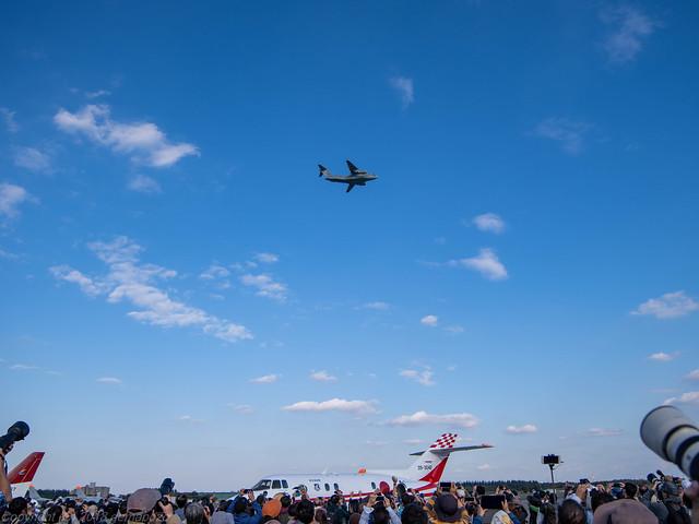 Iruma Air Festival 2018 - C-1 fly pass
