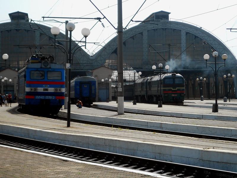 Станция Львов. Вокзал.