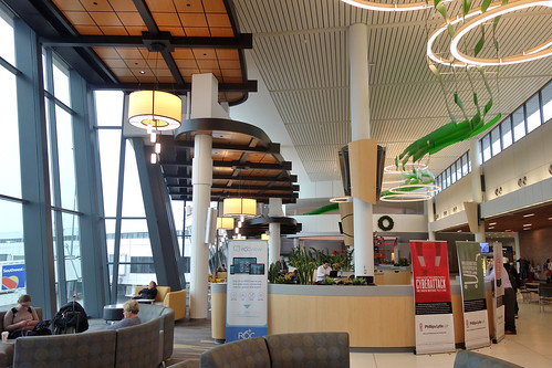 ROC Greater Rochester International Airport, Nov. 27, 2018 Expanded West Atrium Seating Area