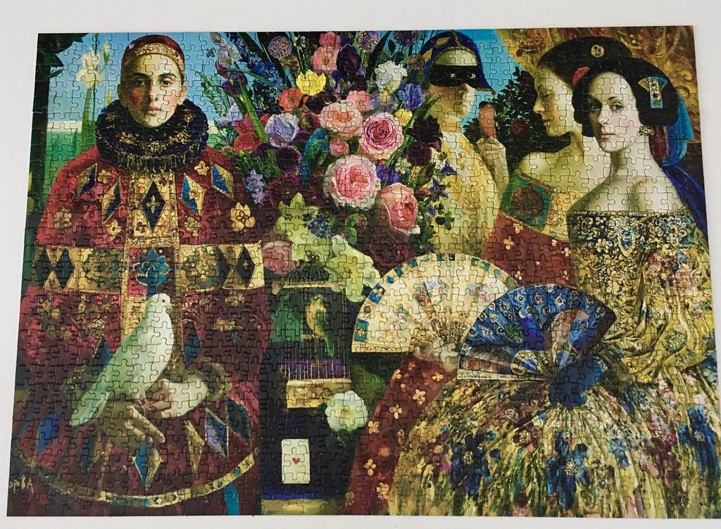 Olga Suvorova: Promenade. Holdson Puzzle 1000 pieces. | Flickr