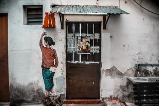 Penang Street Art   by TheViewDeck