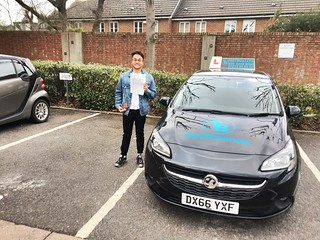 Congrats to Francisco on passing his driving test this afternoon at Isleworth 1st time!!!! Well done!!🚗🚗🚗🚗🚗🚗 | by testbusters