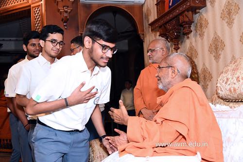 Std-10-11-12-visit-to-Haridham-for-Swamishree's-Blessings-(54) | by Atmiya Vidya Mandir