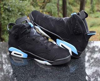 af5c2734aa1 Air Jordan 6 Retro UNC Black University Blue 384664-006 Men's Size 16 | by  ...
