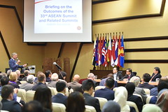 Briefing by SG Dato Lim on the Outcomes of the 33rd ASEAN Summit and Related Summits