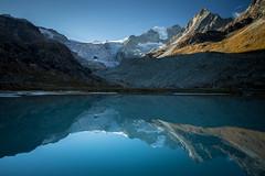 Glacier de Moiry, Suisse