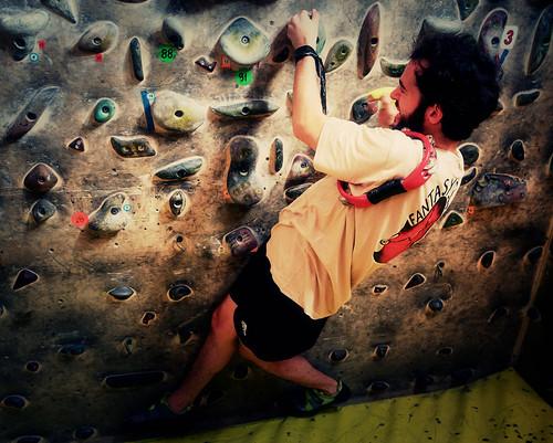Fantasyclimbing corso di arrampicata il deposito di zio Paperone 59