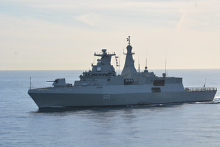 SNMG2 PASSEX with Algerian Navy-SNMG2-RK-004 | by NATO HQ MARCOM