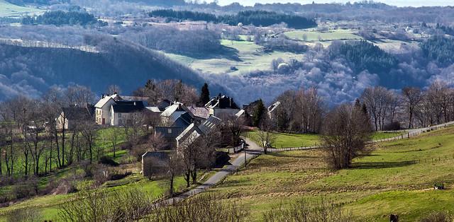 Village du Cantal.