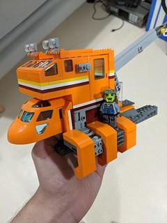 Space Repair Garage Tow Truck - WIP | by Ninja_Bait