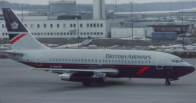 G-BKYM  BA 737-236A