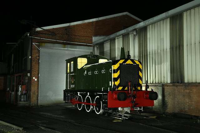 D2207 sits at Grosmont Shed