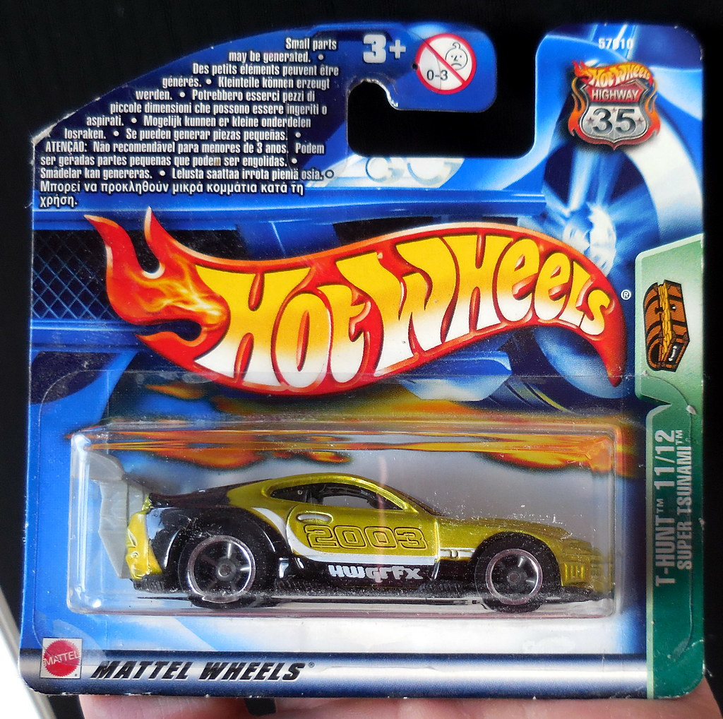 Wonderbaarlijk Toyota Supra Hotwheels Treasure Hunt Super Tsunami 2003 11… | Flickr QU-65