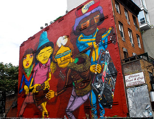 Hommage to Rock Steady Crew NYC