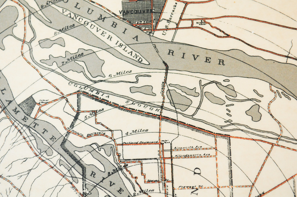 1896 Cyclists Road Map of Portland | BikePortland | Flickr on nottingham university psychology building map, u of portland logo, downtown portland map, pdx campus map, college of the holy cross map, portland oregon map, u texas map, u mary map, portland chinatown map,
