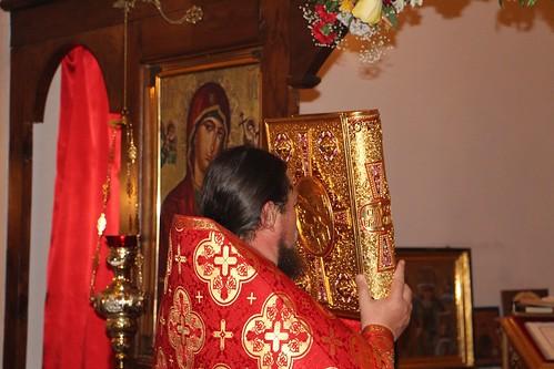 Пасхальное Богослужение в Свято-Никольском храме станицы Кавказской IMG_1402