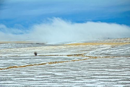 landscape winter sky cloud