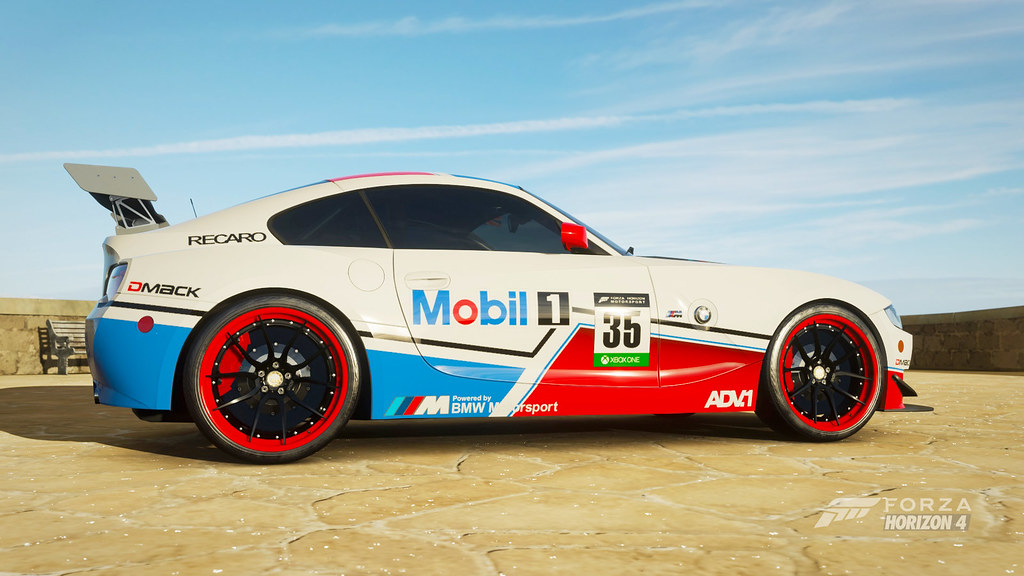2008 BMW Z4 M Coupe | Fictional livery available to download… | Flickr