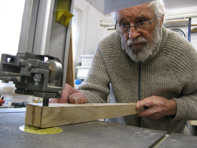 108. Building a Hebridean wind-vane self-steering system - cheers Dad - 1