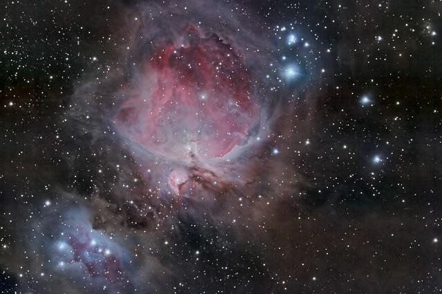 Orion & Running Man nebula