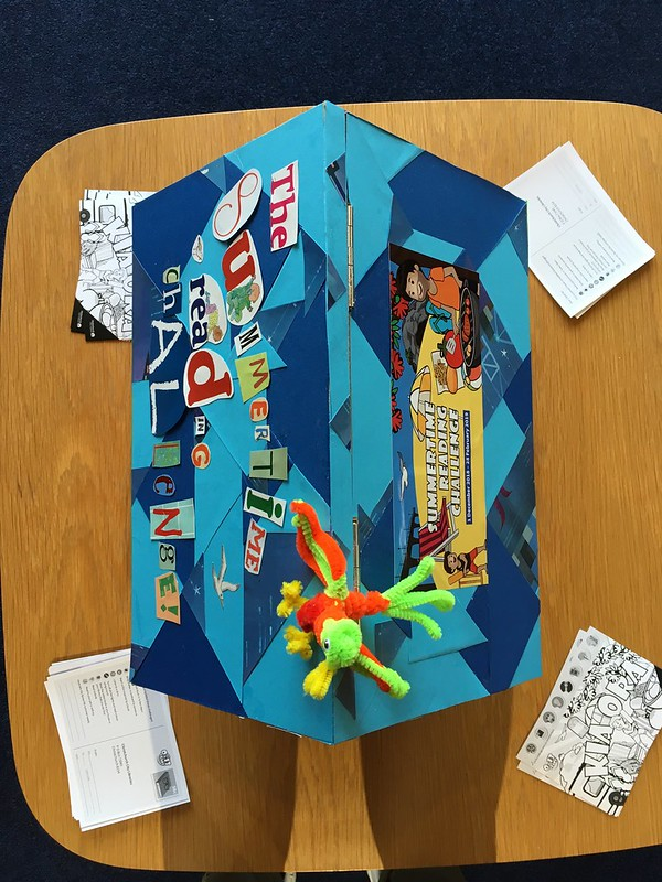 Matuku Takotako: Sumner Centre Summertime Reading Challenge postbox