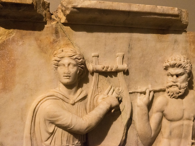 """Ovid: Apollo and Marsyas  – """"Love, Myths and Other Stories"""" –  LXIX"""