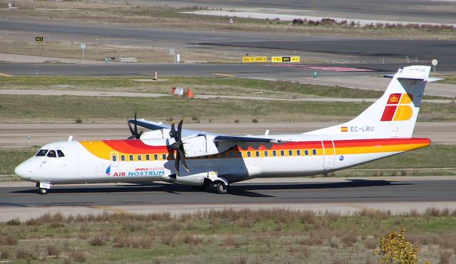 ATR72 EC-LRU Madrid 14/12/18