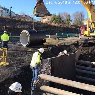 Green Line Extension Drainage Pipe, December 2018 | by MassDOT