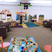Children's area. State Librarian Beverly Cain, Julia Ward, and Bill Morris traveled to Northwest Ohio in August 2018 to meet former State Library Board Member, John Myles, for a tour of four public libraries and the Museum of Fulton County.