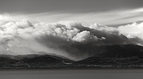 clouds cloudy storm juandefuca salishsea mountain olympics nikkor nikon portangeles washington usa jamesbay victoria canada