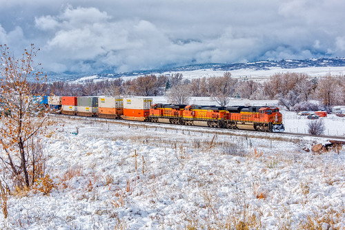 bnsf8503 coloradorailroads coloradotrains qtrain castlerock colorado unitedstates us