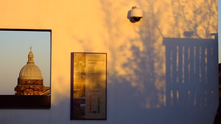 Sunset framed and shadowed   by byronv2