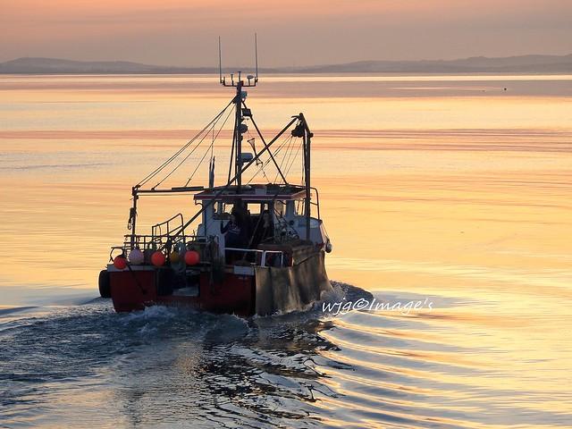 Calm evening, Lough Foyle, Co. Donegal.