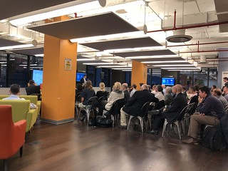 James Patchett welcomes guests to our event in New York | by smartergrid