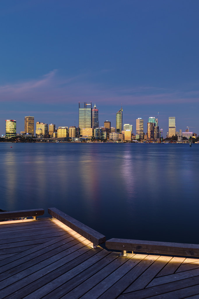 Perth at Twilight - click or tap to view on Flickr