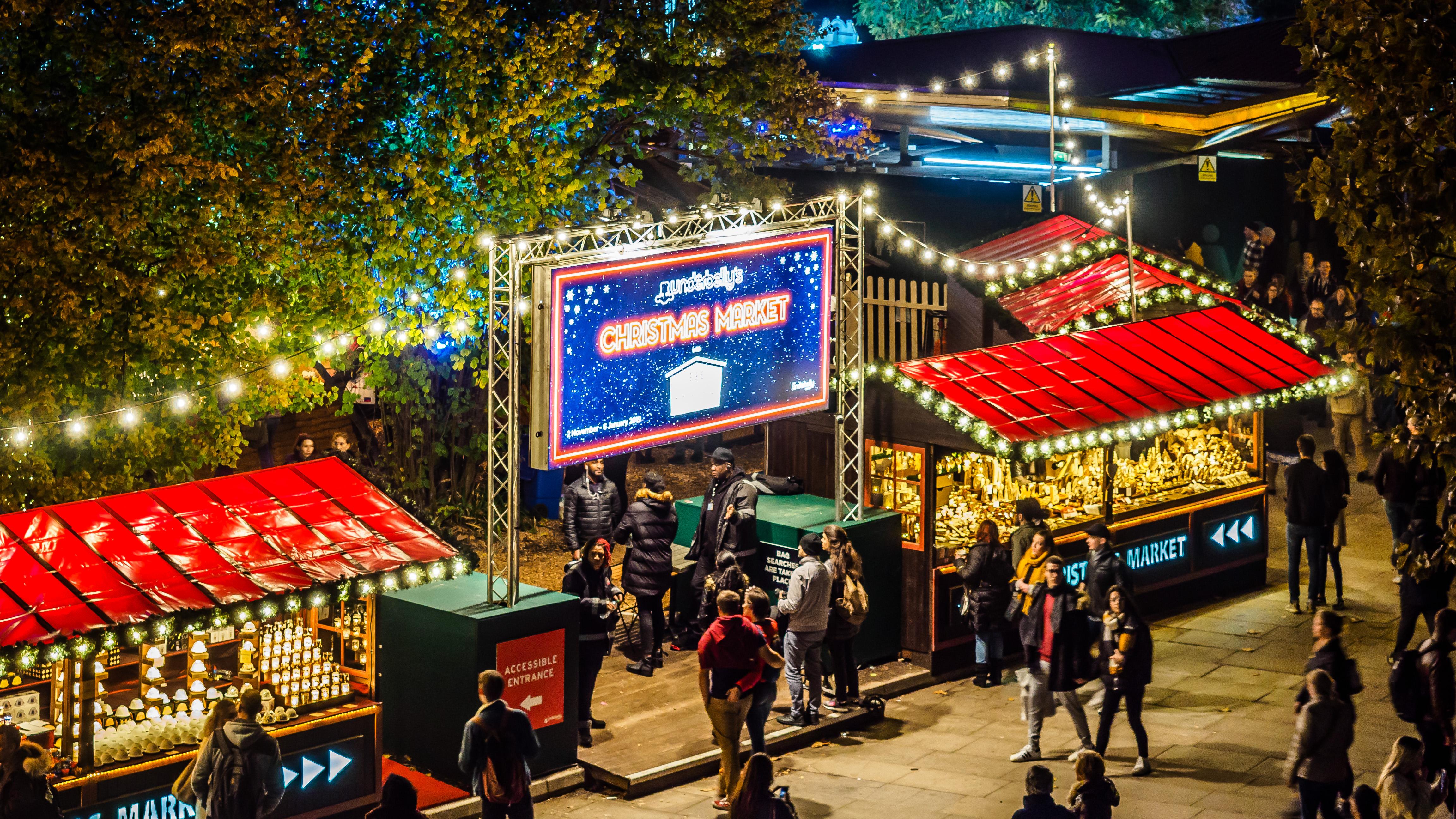 Southbank Christmast Market