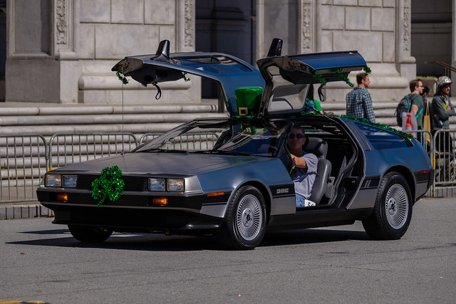 St Patricks Parade SF 2019: That's right: suspension