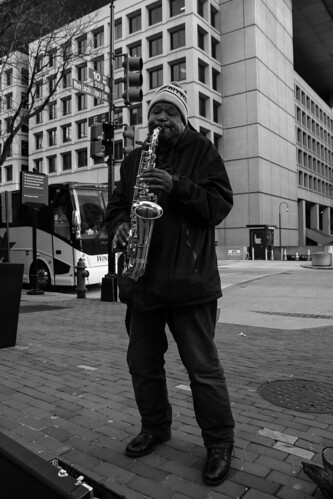10th Street Saxophone Player | by Bradley Joines