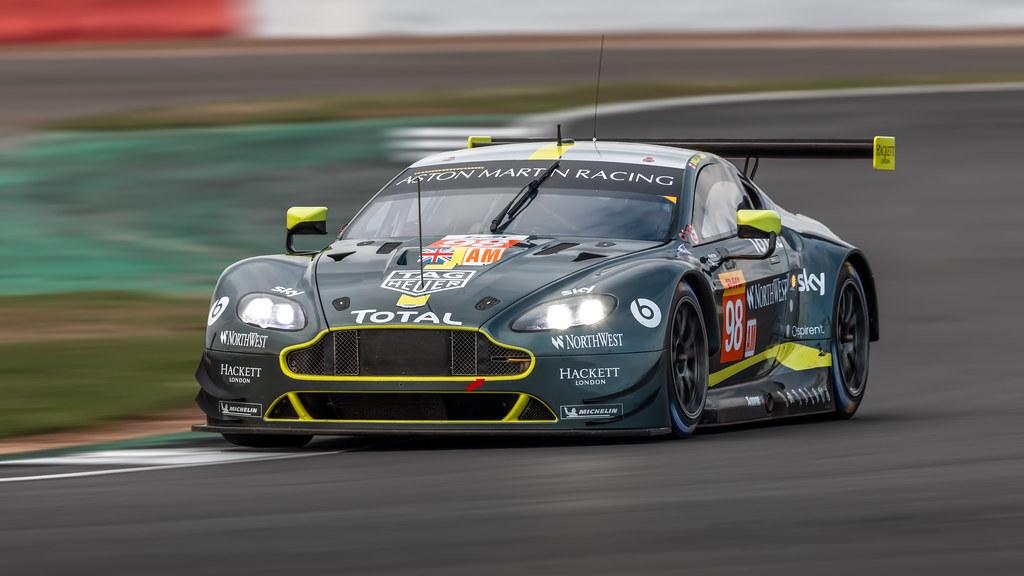 98 Aston Martin Racing Aston Martin Vantage Paul Dalla L Flickr