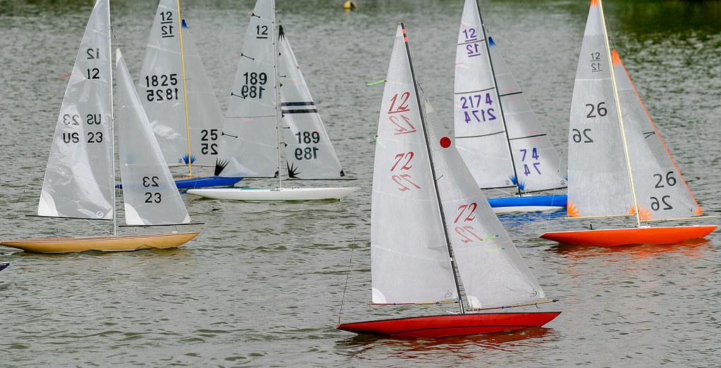 RC Sailboats | EC 12 Radio Controlled Sailboats at Freedom L